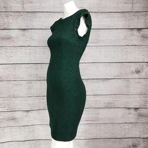 Zara Dresses - Zara S Mini Dress Bodycon Embellished Textured